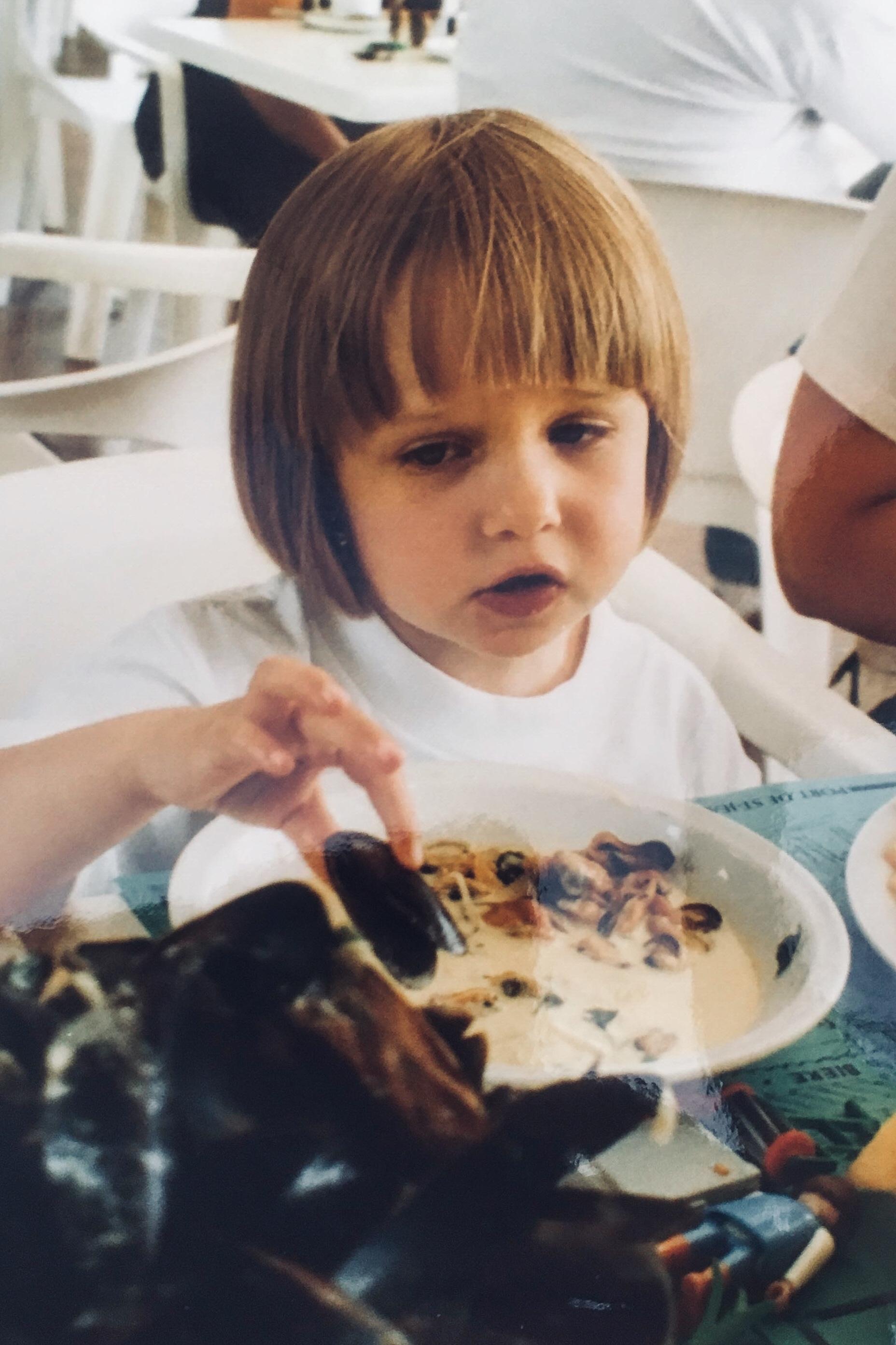 Emily aged 2